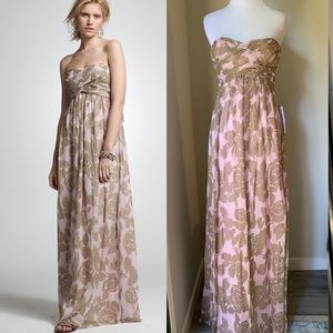 J. Crew Rose Gown